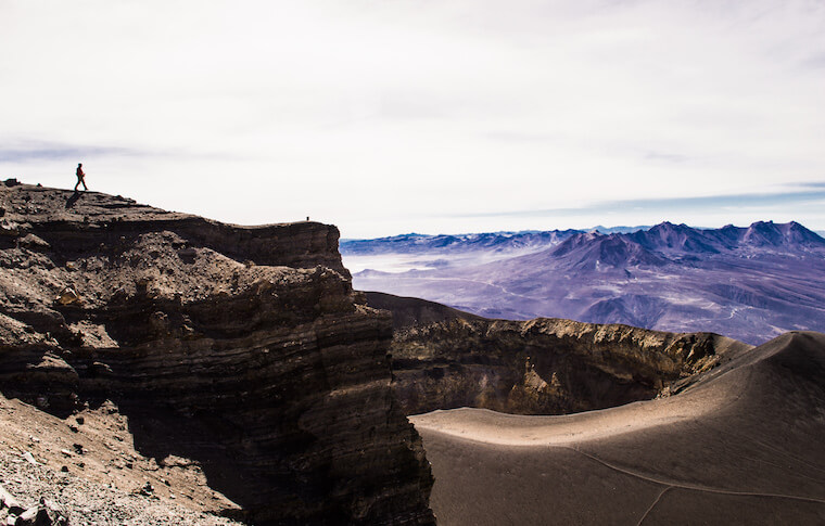 A lanscape of Peruvian Andes