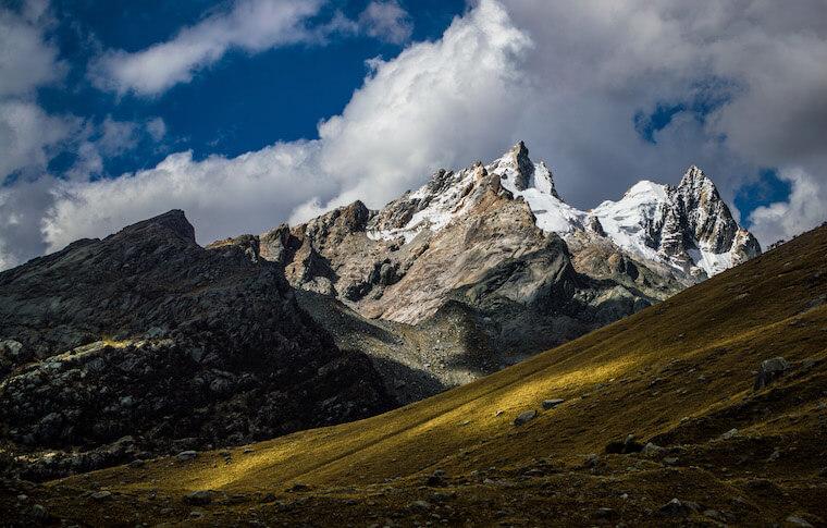 Peruvian mountain landscape